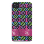 Personalized Girls Sparkle Gifts Case-Mate iPhone 4 Cases
