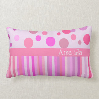 Personalized girls's room pillow