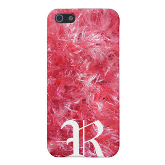 Personalized Girly Pink Fuzz and Fluff iPhone SE/5/5s Cover