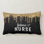Personalized Glam Nurse Lumbar Pillow