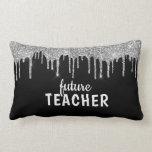 Personalized Glam Teacher Lumbar Pillow