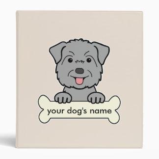 Personalized Glen of Imaal Terrier 3 Ring Binder