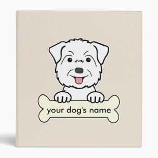 Personalized Glen of Imaal Terrier Binder