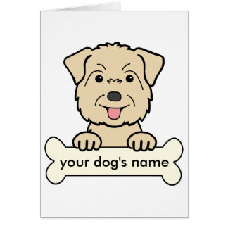 Personalized Glen of Imaal Terrier Greeting Cards