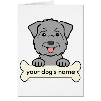Personalized Glen of Imaal Terrier Card