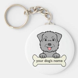 Personalized Glen of Imaal Terrier Keychain