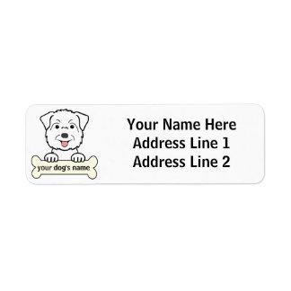 Personalized Glen of Imaal Terrier Return Address Label