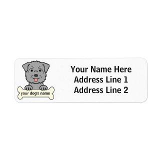Personalized Glen of Imaal Terrier Custom Return Address Labels