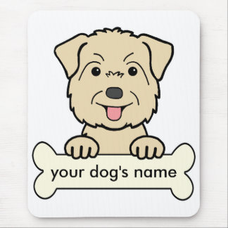 Personalized Glen of Imaal Terrier Mouse Pad