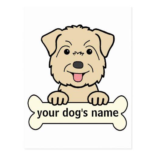 Personalized Glen of Imaal Terrier Postcard