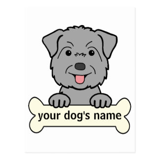 Personalized Glen of Imaal Terrier Postcard
