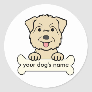 Personalized Glen of Imaal Terrier Stickers