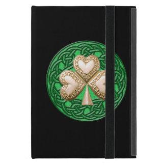 Personalized Gold Shamrock iPad Mini Case