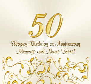 50th Birthday Ideas Gifts On Zazzle