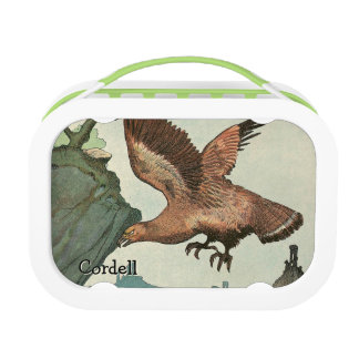 Personalized Golden Eagle Yubo Lunchbox