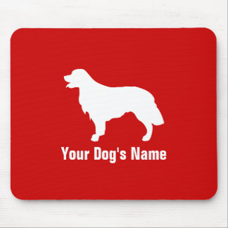 Personalized Golden Retriever ゴールデン・レトリーバー Mouse Pad