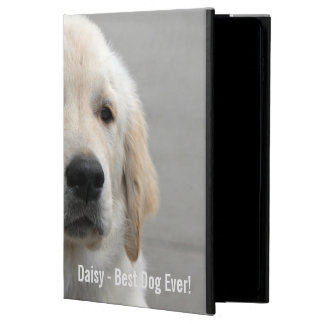 Personalized Golden Retriever Dog Photo and Name Powis iPad Air 2 Case