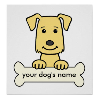 Personalized Golden Retriever Poster