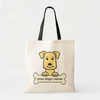 Personalized Golden Retriever Tote Bag