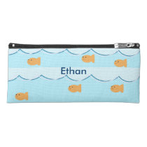 Personalized goldfish pencil case