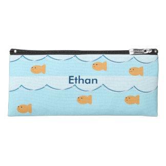 Personalized goldfish pencil case