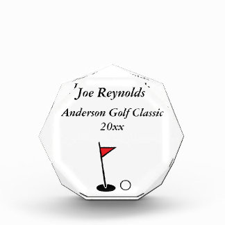 Personalized Golf Award