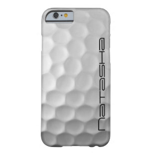 new product 8cdde d6c8a Personalized Golf Ball Dimples Texture Pattern Barely There iPhone 6 Case