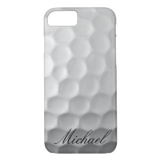Personalized Golf Ball Dimples Texture Pattern iPhone 7 Case