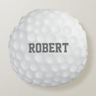 Personalized Golf Ball Pillow