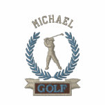 Personalized Golf Banner Logo Custom Embroidered Shirts