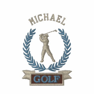 Personalized Golf Banner Logo Embroidered Polo Shirt