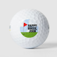 personalized golf birthday collectible golf balls