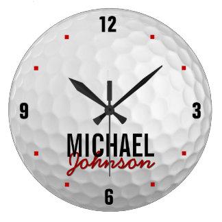 Personalized Golf Clock