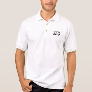 Personalized golf polo with logo