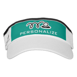 Personalized golf sun visor for men or women