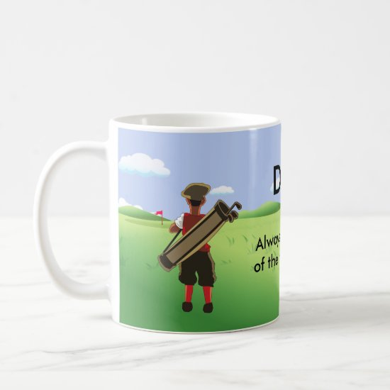 Personalized Golfer's Mug