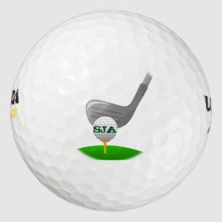 Personalized Golfing Golf Ball