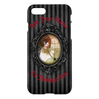 Personalized Gothic Frame With Spider iPhone 8/7 Case