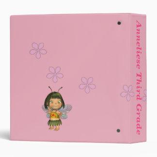 Personalized Grade School Girl Memory Binder