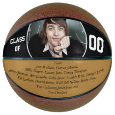 Personalized Graduates Team Members Year Basketball at Zazzle