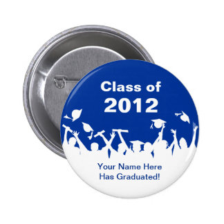 Personalized Graduation Buttons