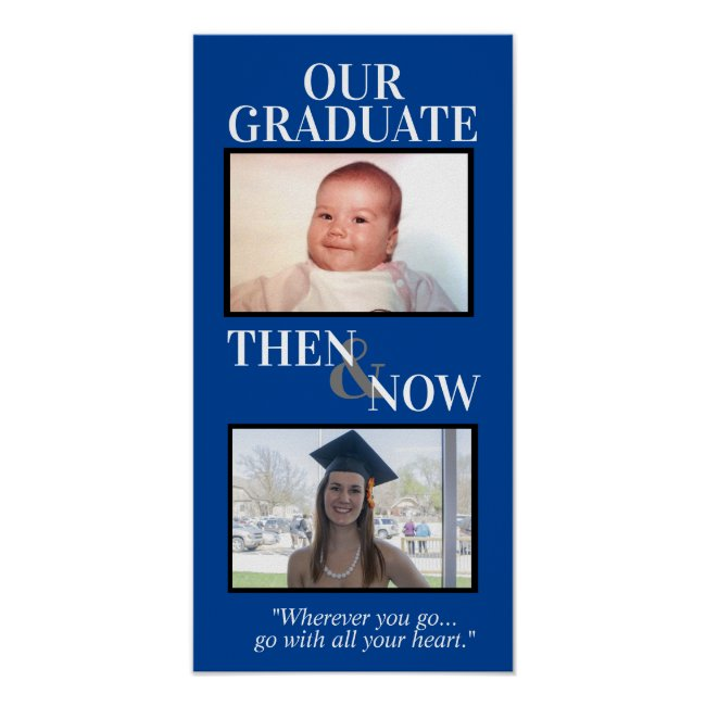 Personalized Graduation Gifts, Graduation Frame Poster