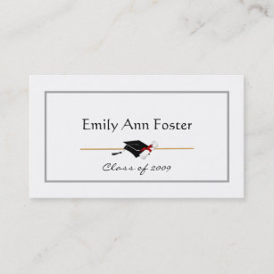 personalized graduation name cards