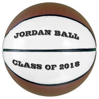 Personalized Graduation Name Class Year Sport Gift Basketball