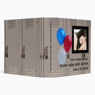 Personalized Graduation or High School Memory Book 3 Ring Binder