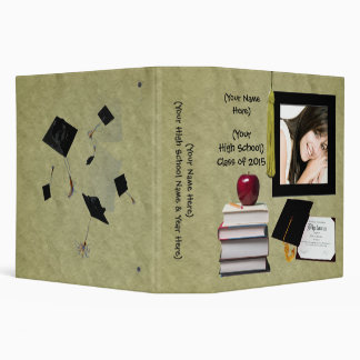 Personalized Graduation or High School Memory Book Binder