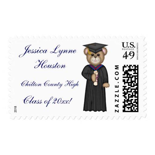 Personalized Graduation Postage