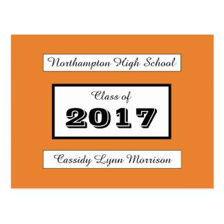 Personalized Graduation/Reunion Postcard