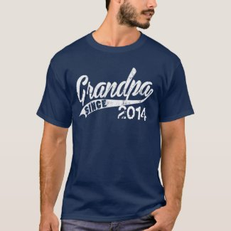 Personalized Grandpa Since Year T-Shirt