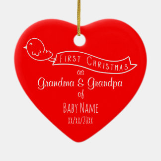 Grandparent Ornaments & Keepsake Ornaments | Zazzle